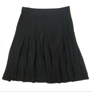 BCBG Pleated Fit and Flare Skirt
